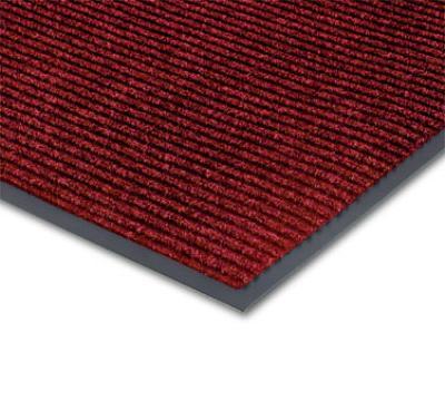 Notrax 434-360 Bristol Ridge Scraper Floor Mat, 4 x 6 ft, Cardinal