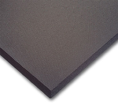 Notrax 65551 Comfort Floor Mat, PVC Nitrile, 3-ft x 6-ft x 5/8-in, Black