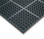 "Notrax 65589 Hercules Economy General Purpose Floor Mat, 39 x 29-1/4 in, 7/8"" Thick, Black"