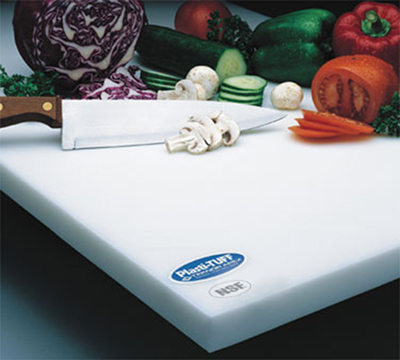 Notrax 173-724 Cutting Board, Anti-Microbial Rubber Compound, 18 x 24 x 1/2-in