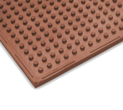 Notrax 418006 Traction Mat Oil Resistant Floor Mat, 3 x 4 ft, 3/8 in Thick, Heavy-Duty Red