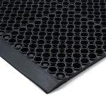 Notrax 435001 Tek-Tough Anti-Fatigue Floor Mat, General Purpose, 3 x 5 ft, 7/8 in Thick, Black