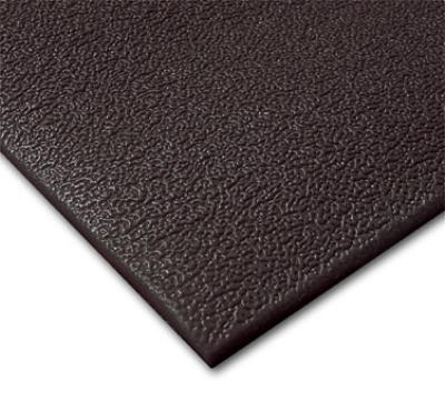"Notrax T41S0346BL Comfort Rest Anti-Fatigue Floor Mat, 4 x 6 ft, 3/8"" Thick, Coal"