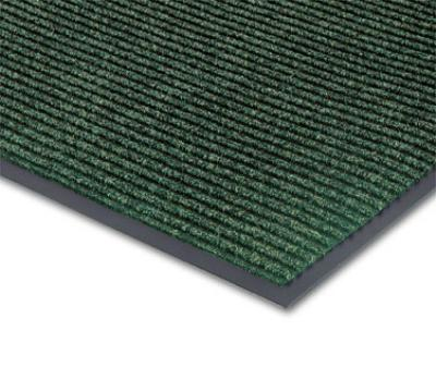 "Notrax T39S0046GN Bristol Ridge Scraper Floor Mat, 4 x 6 ft, 1"" Vinyl Border, Forest Green"