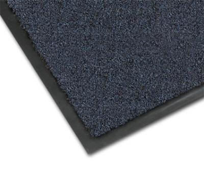 NoTrax 4468-090 Atlantic Olefin Floor Mat, Exceptional Water Absorbtion, 4 x 60 ft, Slate Blue
