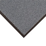 Notrax T37S0410CH Atlantic Olefin Floor Mat, Exceptional Water Absorbtion, 4 x 10 ft, Gun Metal