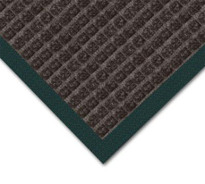 Notrax 4468432 Water Master Carpet, 4 x 6 ft, Rubber Base, Stain / Fade Resistant, Charcoal