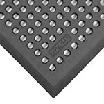 Notrax 544S-0035BL Comfort Zone General Purpose Floor Mat, 3 x 5 ft, 5/8 in Thick, Black