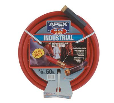 "Notrax 724-311 Hot Water Hose, 50ft, 5/8"" ID"