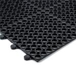 Notrax 752155 Tek-Connect General Purpose Floor Mat, 3 x 4 ft, 1/2 in Thick, Black