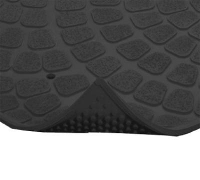 "Notrax 753601 Grip True General Purpose Floor Mat, 3 x 4 ft, 3/8"" Thick, Black"