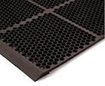 NoTrax T15KA012BR Floor Mat Connector - Brown