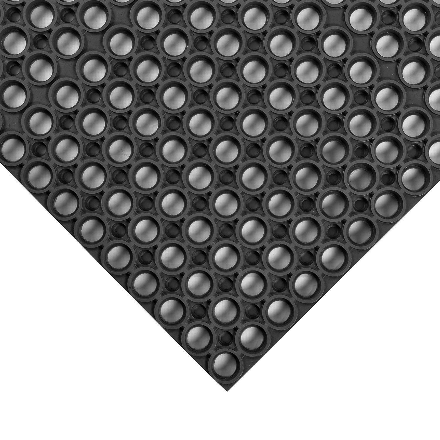Notrax T25S0035BL Apex Challenger Anti-Fatigue Floor Mat - 3' x 5', Rubber, Black