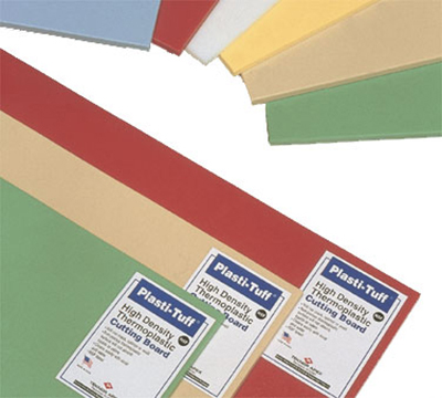 Notrax 437-522 Color Coded Cutting Board, Wall Chart & Cutting Guide, 12 x 18 x 1/2""