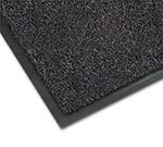 Notrax 0434-325 Olefin Fiber Floor Mat, Stain & Slip Resistant, 3 x 6-ft, Gun Metal
