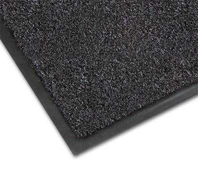 Notrax 0434-324 Olefin Fiber Floor Mat, Stain & Slip Resistant, 3 x 5-ft, Gun Metal