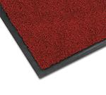 Notrax 0434-331 Olefin Fiber Floor Mat, Stain & Slip Resistant, 3 x 4-ft, Crimson