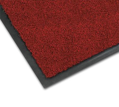 Notrax 0434-334 Olefin Fiber Floor Mat, Stain & Slip Resistant, 3 x 10-ft, Crimson
