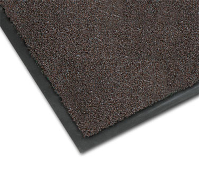 Notrax 0434-319 Olefin Fiber Floor Mat, Stain & Slip Resistant, 3 x 60-ft, Dark Toast