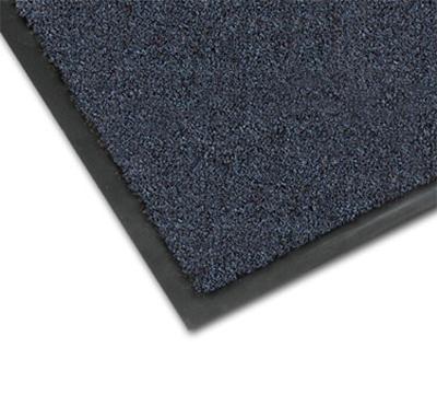 Notrax 4468-174 Olefin Fiber Floor Mat, Stain & Slip Resistant, 2 x 3-ft, Slate Blue