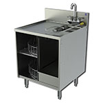 Perlick 7057-1 24-in Glass Handling Cabinet For Glass Washer