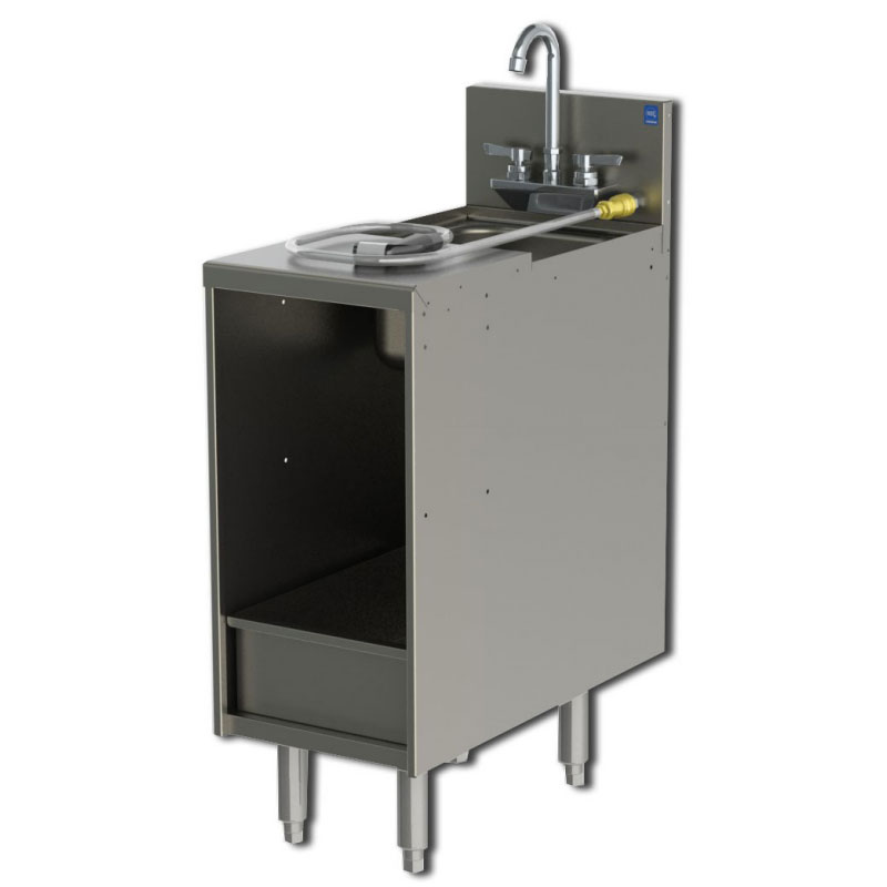 Perlick 7057 3 12 In Storage Cabinet W Sink Amp Removable