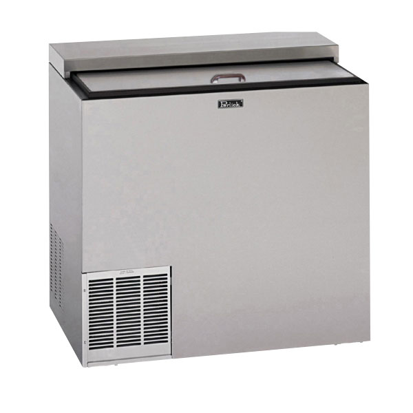 "Perlick BC36LT 36"" Forced Air Bottle Cooler - Holds (234) 12-oz Bottles, Stainless Interior, 115v"