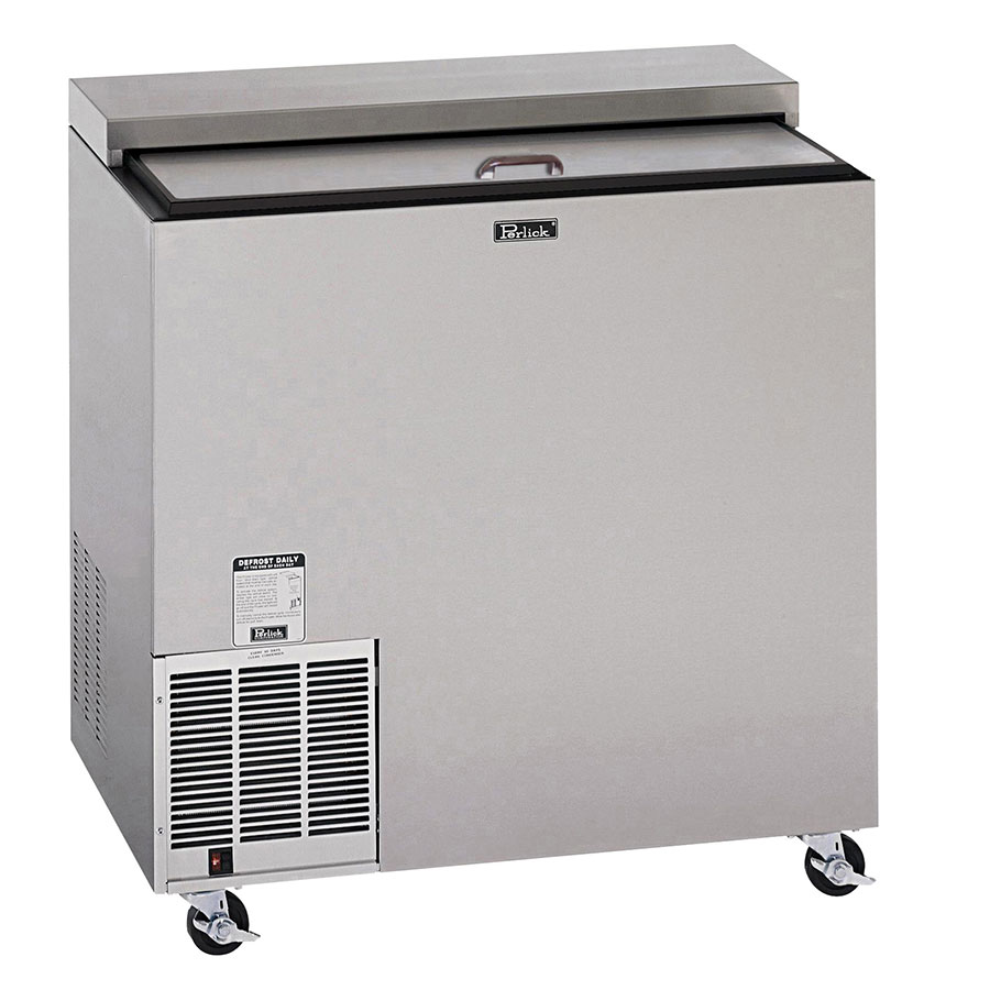 Perlick FR36-STK 2-Section Glass Chiller w/ 142-Mug Capacity - Stainless, 115v