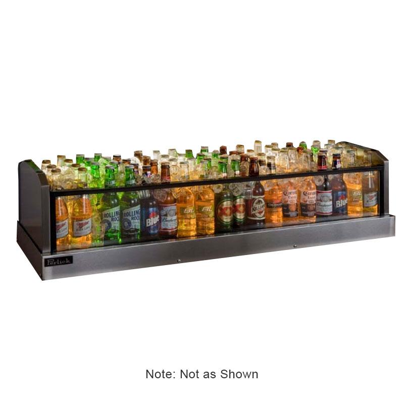 Perlick GMDS14X66 66-in Glass Merchandiser Display w/ 96-Bottle Capacity