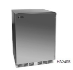 Perlick HA24BB-1L 4.3-cu ft Undercounter Refrigerator w/ (1) Section & (1) Door, 115v