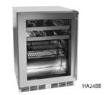Perlick HA24BB-4L 4.3-cu ft Undercounter Refrigerator w/ (1) Section & (1) Door, 115v