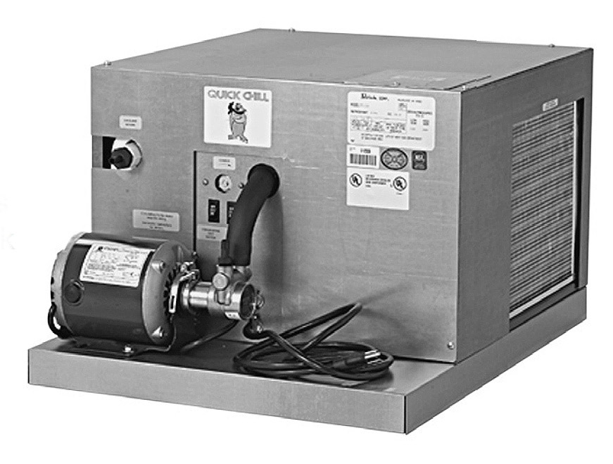 Perlick PP50C PP Series Power Pak w/ Self-Priming 70 GPH, 1410 BTUH At 75 Degree