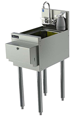 Perlick TS12HSN 12-in TS Series Underbar Hand Sink Unit w/ Soap Dispen