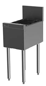 Perlick TS12U 12-in TS Series Insulated Storage Chest w/ Legs, Stainless