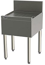 Perlick TS20 20-in Underbar Drainboard w/ Embossed Top, Stainless