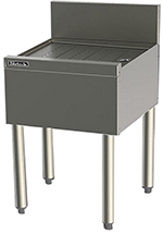 Perlick TS21 21-in Underbar Drainboard w/ Embossed Top, Stainless