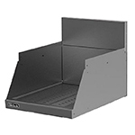 "Perlick TS24DD 24"" Underbar Drop-Drown Drainboard w/ Embossed Top, Stainless"