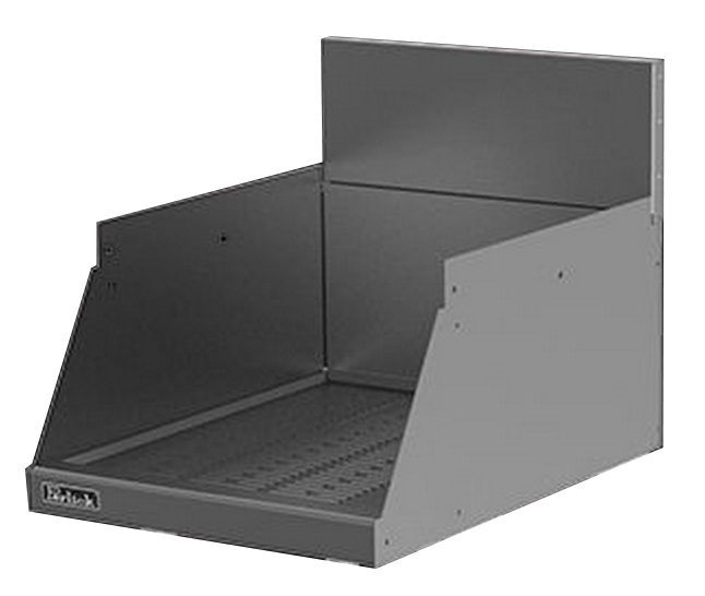 Perlick TS24DD 24-in Underbar Drop-Drown Drainboard w/ Embossed Top, Stainless