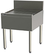 Perlick TS30 30-in Underbar Drainboard w/ Embossed Top, Stainless