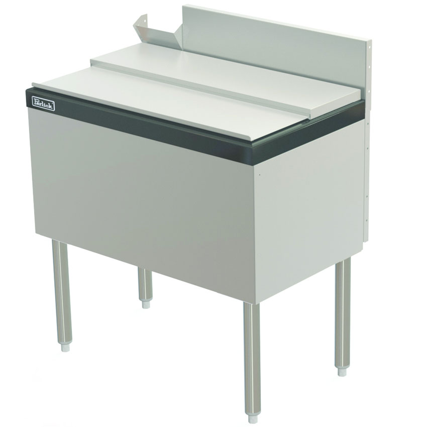 "Perlick TS30IC10-STK 30"" Under Bar Ice Bin w/ 70-lb Capacity - Stainless"