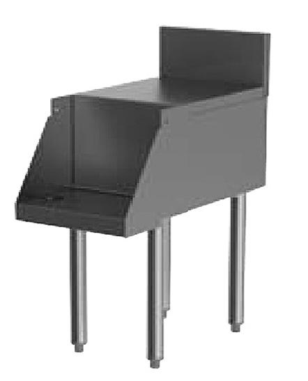 Perlick TSD18BLD 18-in Blender Station w/ Flat Worktop & Recessed Shelf, Stainless