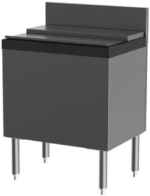 Perlick TSS36IC-EC10 36-in Extra Capacity 115-lb Ice Chest w/ 10-Circuit Cold Plate