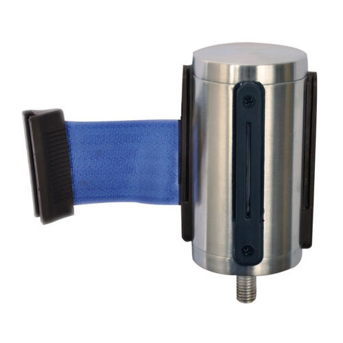 CSL 5521-BLU Belt Head w/ 9.5-ft Blue Belt, Brushed Stainless