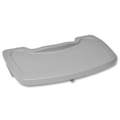 CSL 851DGY Plastic High Chair Tray, Gray