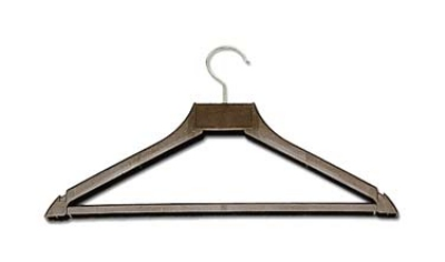 CSL Foodservice & Hospitality 1160 17-in Hanger w/ Open Hook, Brown Plastic
