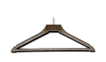 CSL 1161 17-in Hanger w/ Ball Top, Brown Plastic