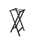 CSL Foodservice & Hospitality 1500BLK-1 Folding Tray Stand w