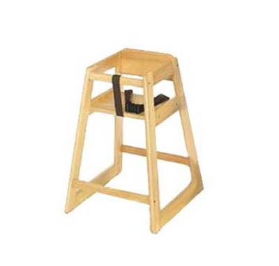 CSL 800LT Stackable Deluxe Wooden High Chair, Light Finish