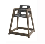 CSL 850BRN Stackable Plastic High Chair, Brown