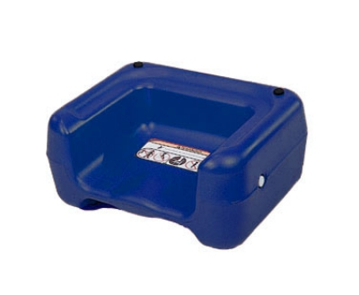 CSL 855BLU-1 Booster Seat w/ Dual Height & Extra Wide Base, Blue